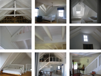 Ceilings-beams-staircases